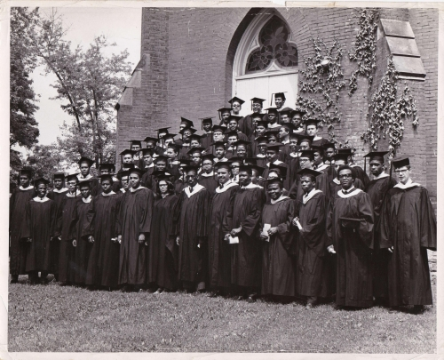 LU Class of 1968 Graduation Photo, courtesy of Ron Welburn'68